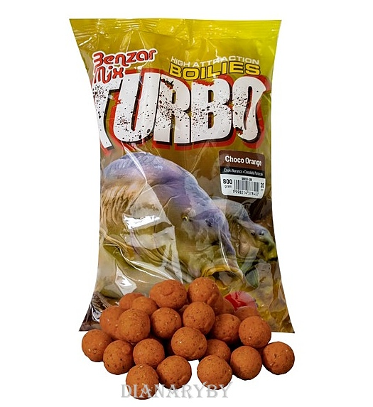 Boilies Benzár Turbo 25mm